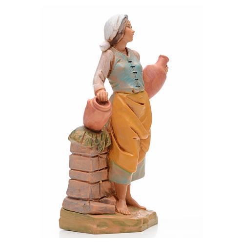 Pastora con jarrones 17 cm Fontanini 2