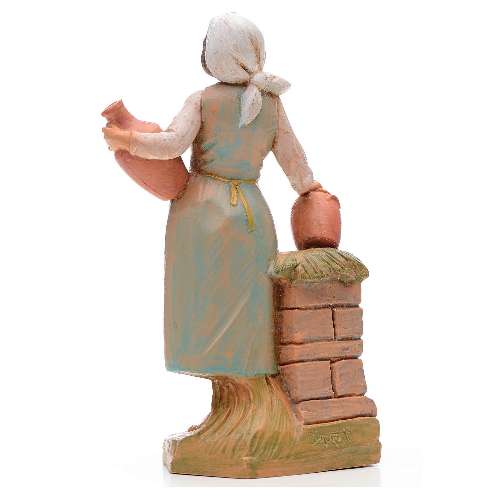 Pastorinha com jarras 17 cm Fontanini 3