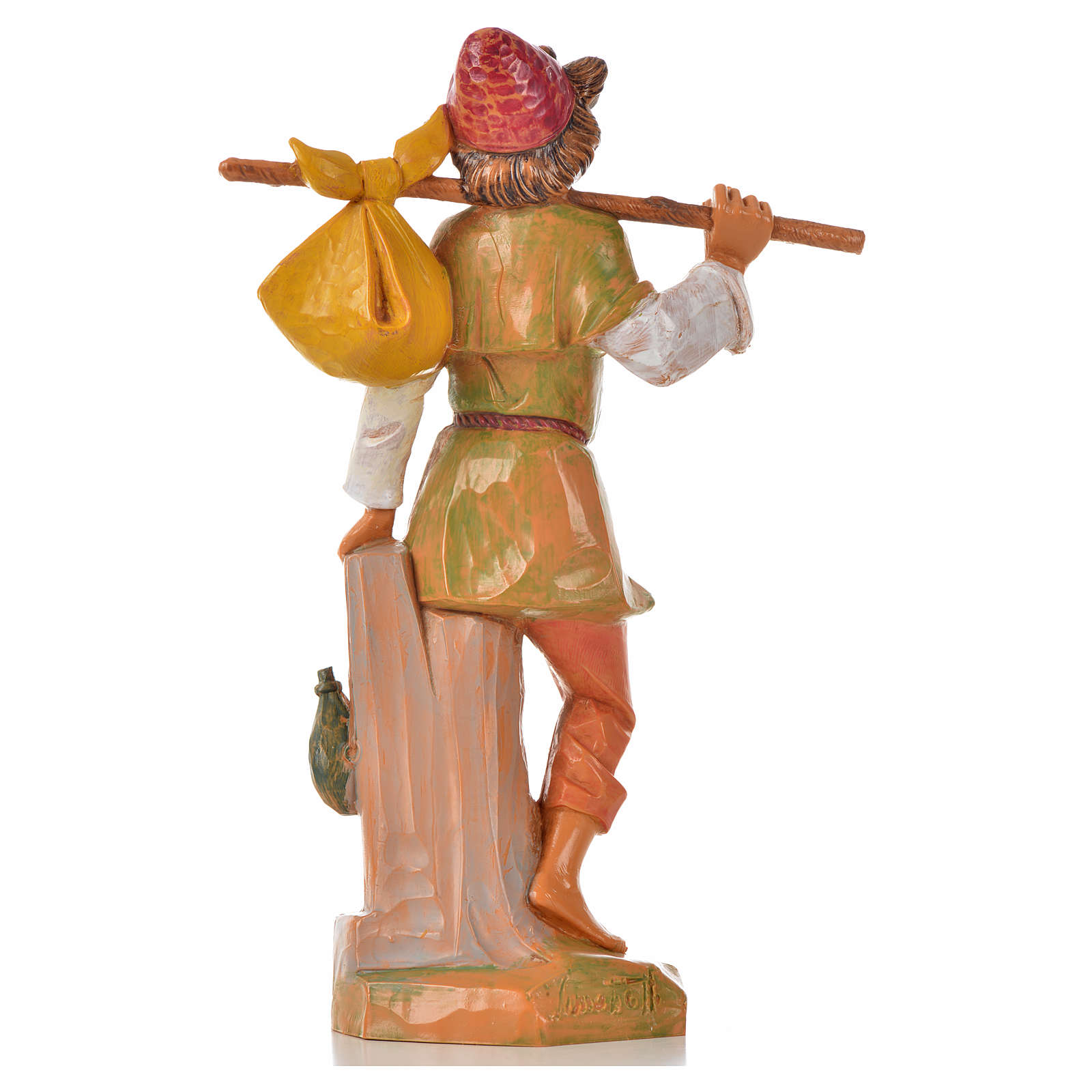 Pastore con fagotto 17 cm Fontanini 3