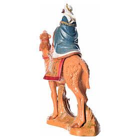Rey Mago moro con camello, 19cm Fontanini s4