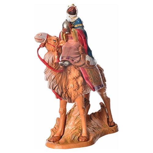 Rey Mago moro con camello, 19cm Fontanini 2