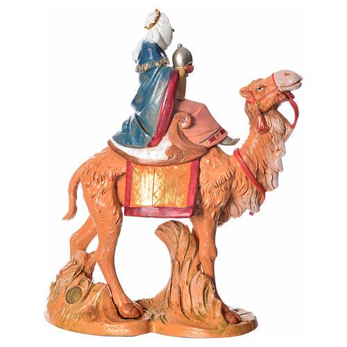Rey Mago moro con camello, 19cm Fontanini 3