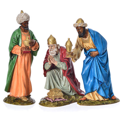 Tres Reyes Magos belén Landi 18 cm 8