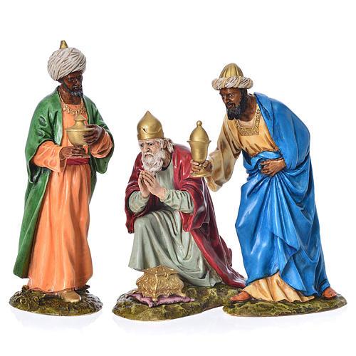 Tres Reyes Magos belén Landi 18 cm 1
