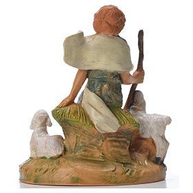Pastor con ovejas 9.5 cm Fontanini s2