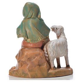 Pastorella con 2 pecore 9,5 cm Fontanini s2
