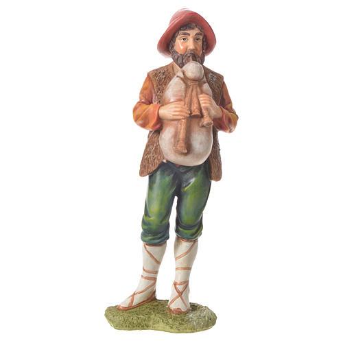 Nativity figurine, bagpiper, 30cm resin 1