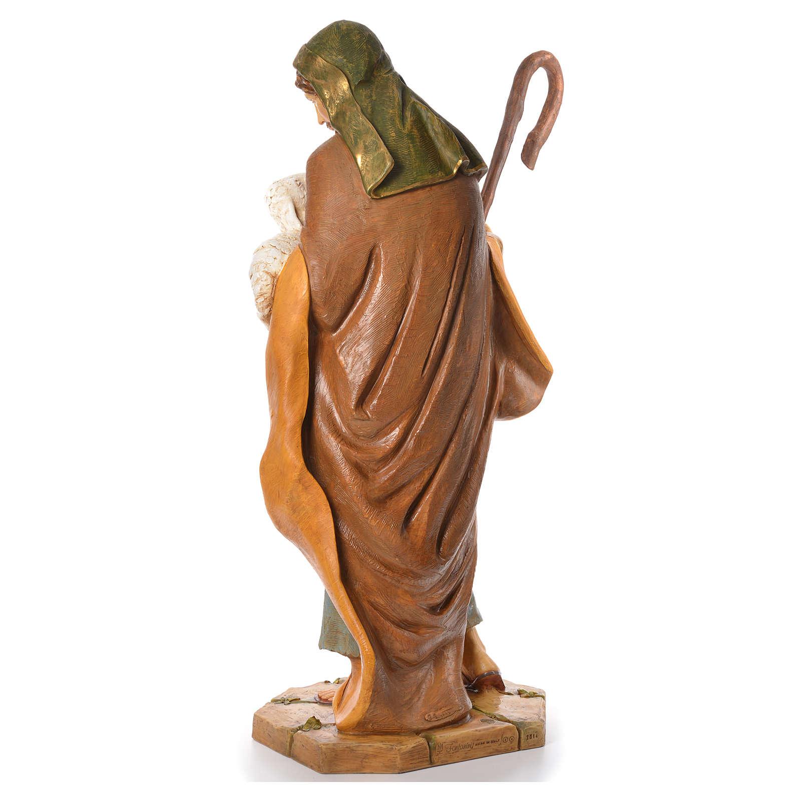 Buon pastore 125 cm Fontanini resina 3