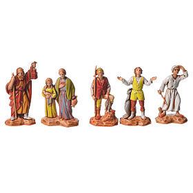 Pastori e cammello 22 pz da 3,5 cm presepe Moranduzzo s4