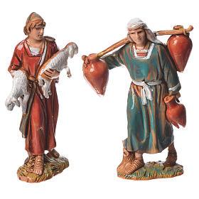 Nativity Scene shepherds figurines by Moranduzzo 6.5cm s9