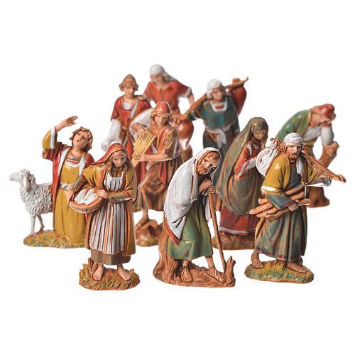 Nativity Scene shepherds figurines by Moranduzzo 6.5cm 6