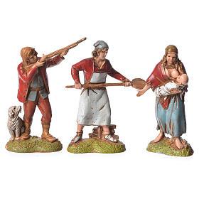 Pastores estilo Napolitano 6 cm Moranduzzo 6 figuras s2