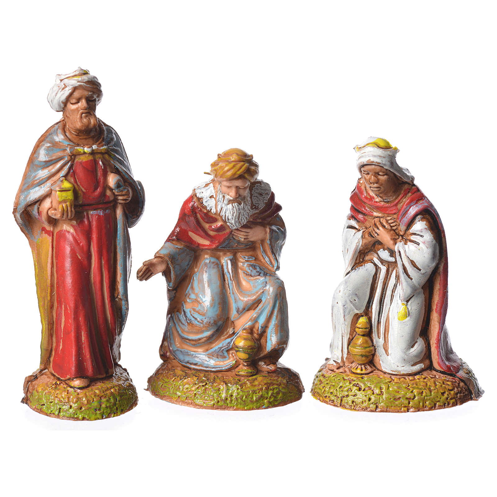 Wise men, 3 nativity figurines, 6cm Moranduzzo 4