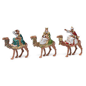 Wise men on camels 6cm, Moranduzzo Nativity Scene s1