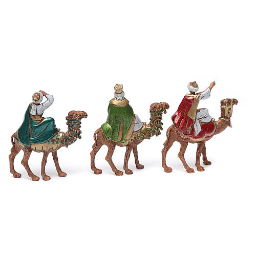 Wise men on camels 6cm, Moranduzzo Nativity Scene 2