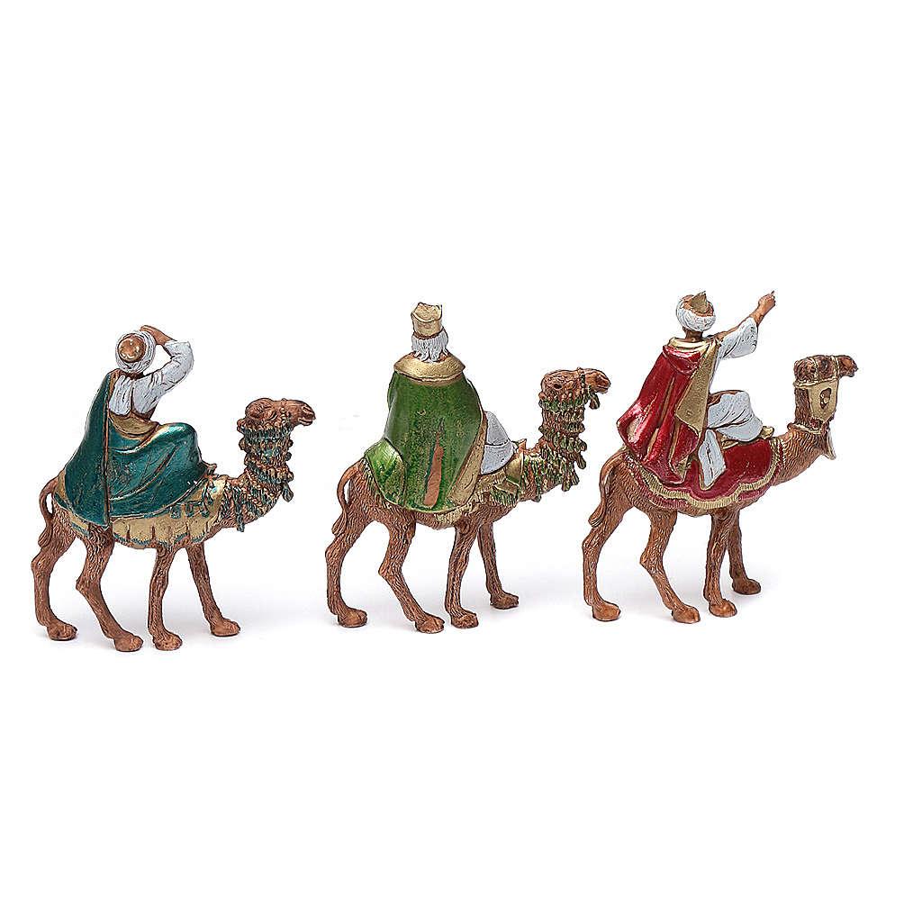 Reyes Magos sobre camello 6 cm Moranduzzo 4