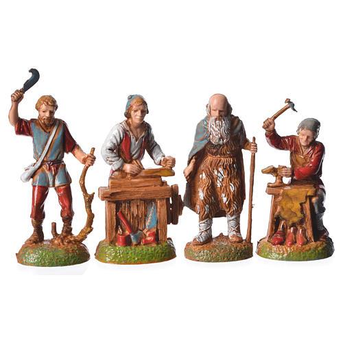 Shepherds, 24 nativity figurines, 6cm Moranduzzo 2
