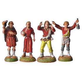Pastores 24 peças para presépio Moranduzzo com figuras de altura  média 6 cm s3