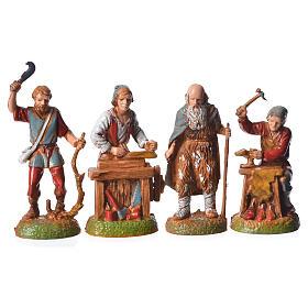 Shepherds, 24 nativity figurines, 6cm Moranduzzo s2