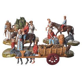 Nativity scene with 5 pieces 6cm by Moranduzzo s1