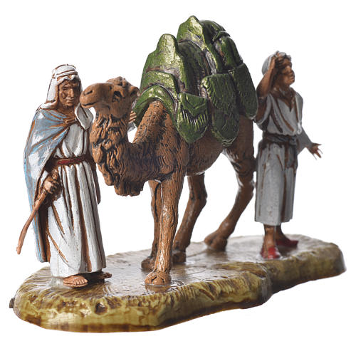 Nativity scene with 5 pieces 6cm by Moranduzzo 4