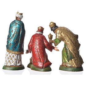 Wise men, 3 nativity figurines, 12cm Moranduzzo s2