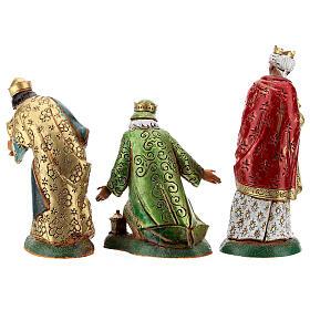 Wise men, 3 nativity figurines, 12cm Moranduzzo s5