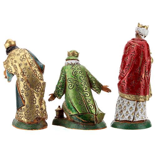 Wise men, 3 nativity figurines, 12cm Moranduzzo 5