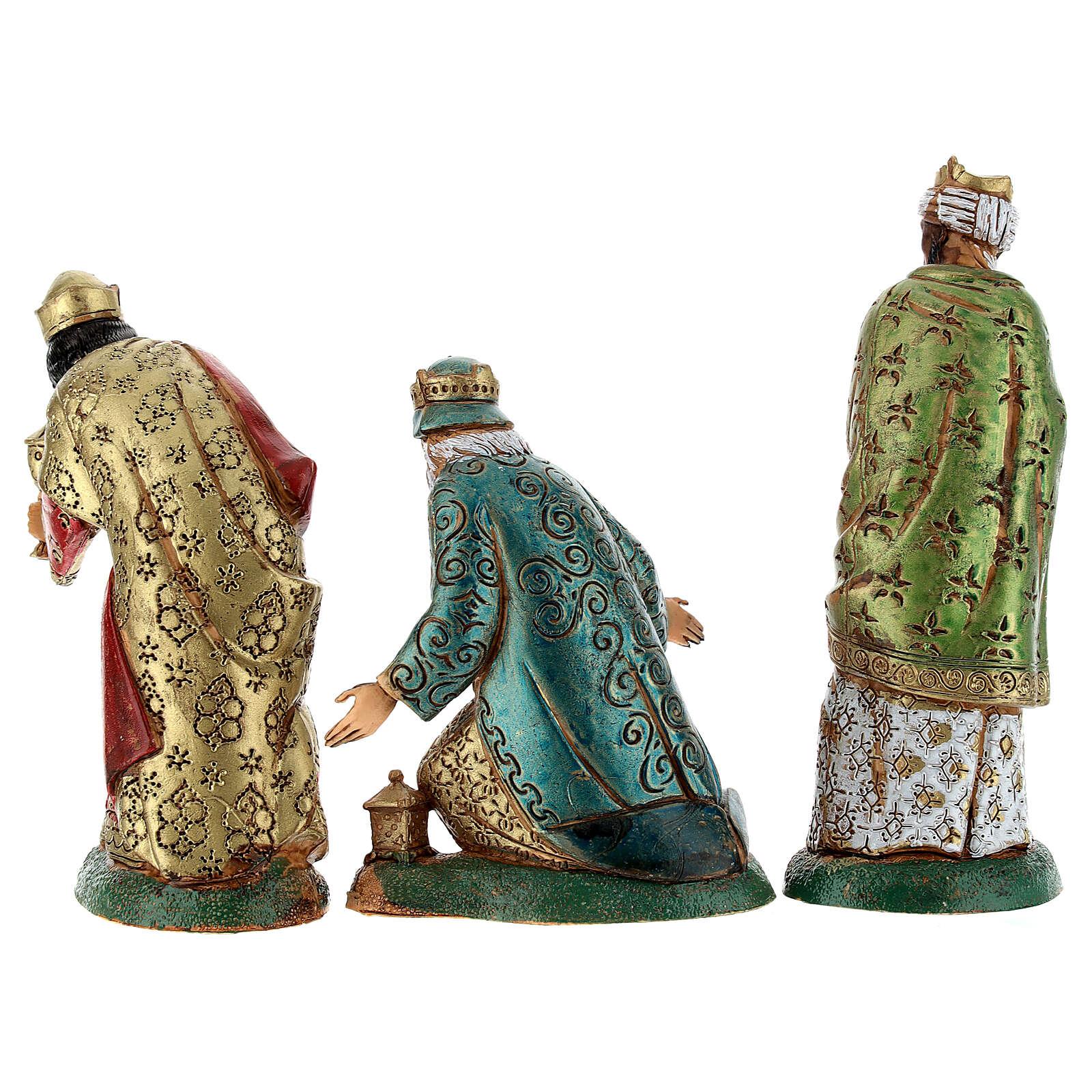 Trzej Królowie 12 cm Moranduzzo 3 szt. 4