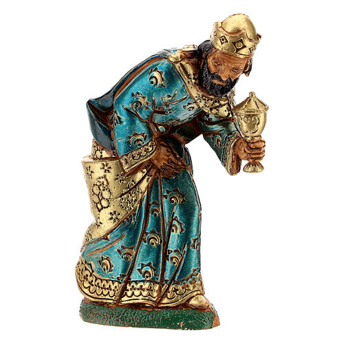 Wise men, 3 nativity figurines, 12cm Moranduzzo 3