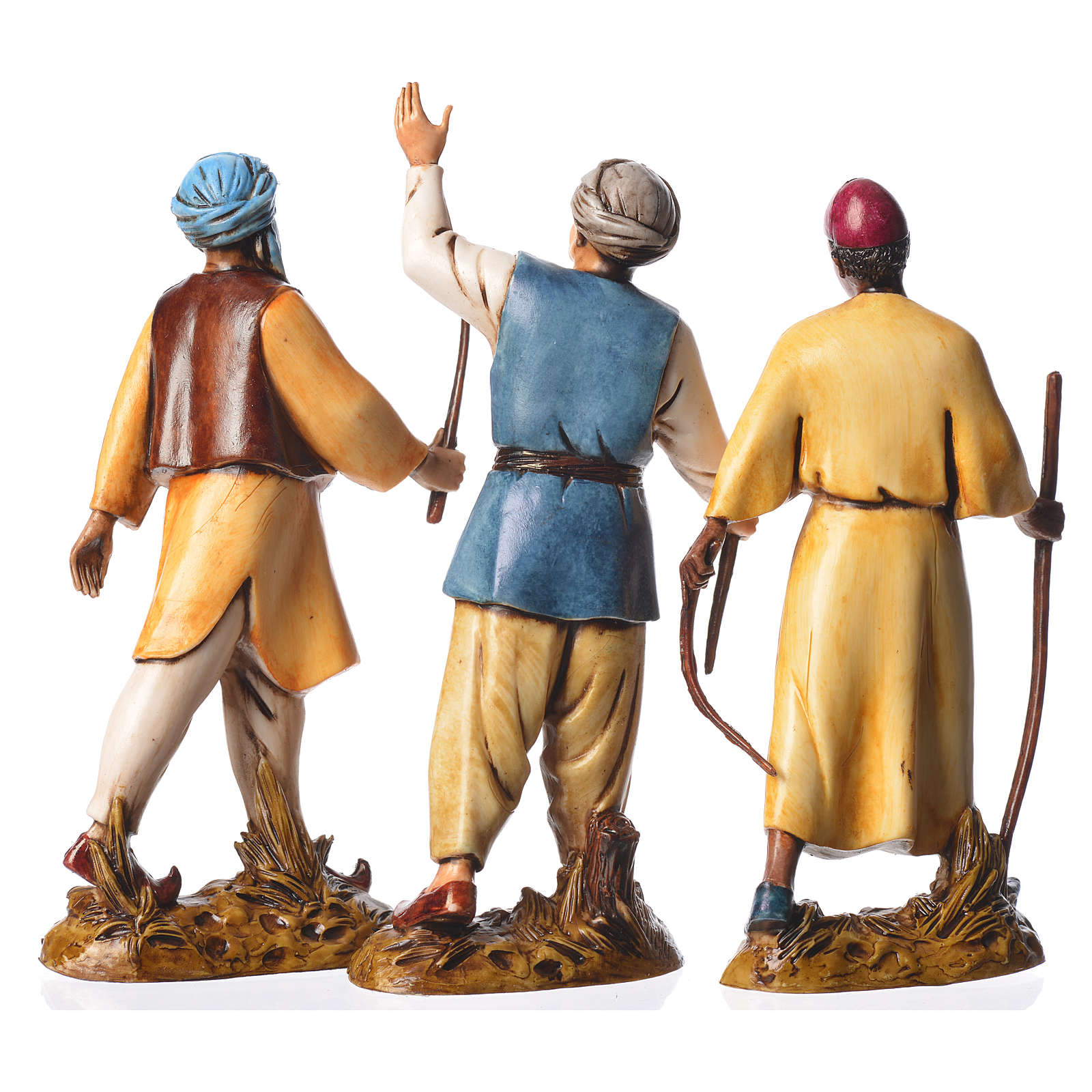 Leaders, 3 nativity figurines, 12cm Moranduzzo 4