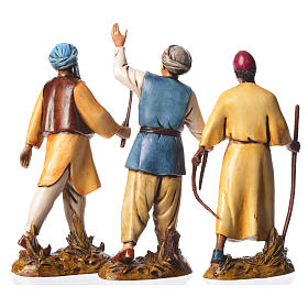 Leaders, 3 nativity figurines, 12cm Moranduzzo s2