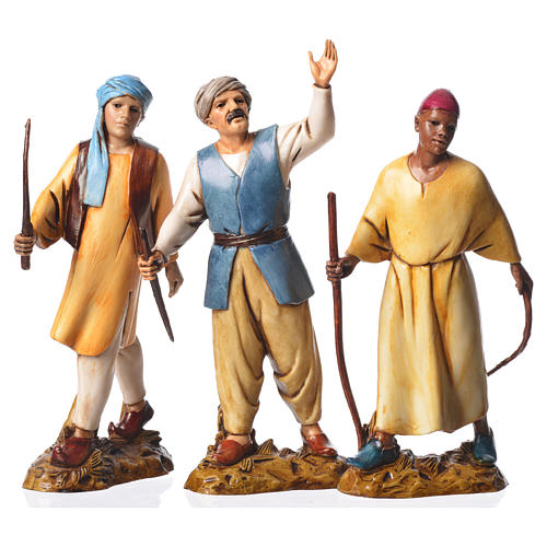 Leaders, 3 nativity figurines, 12cm Moranduzzo 1