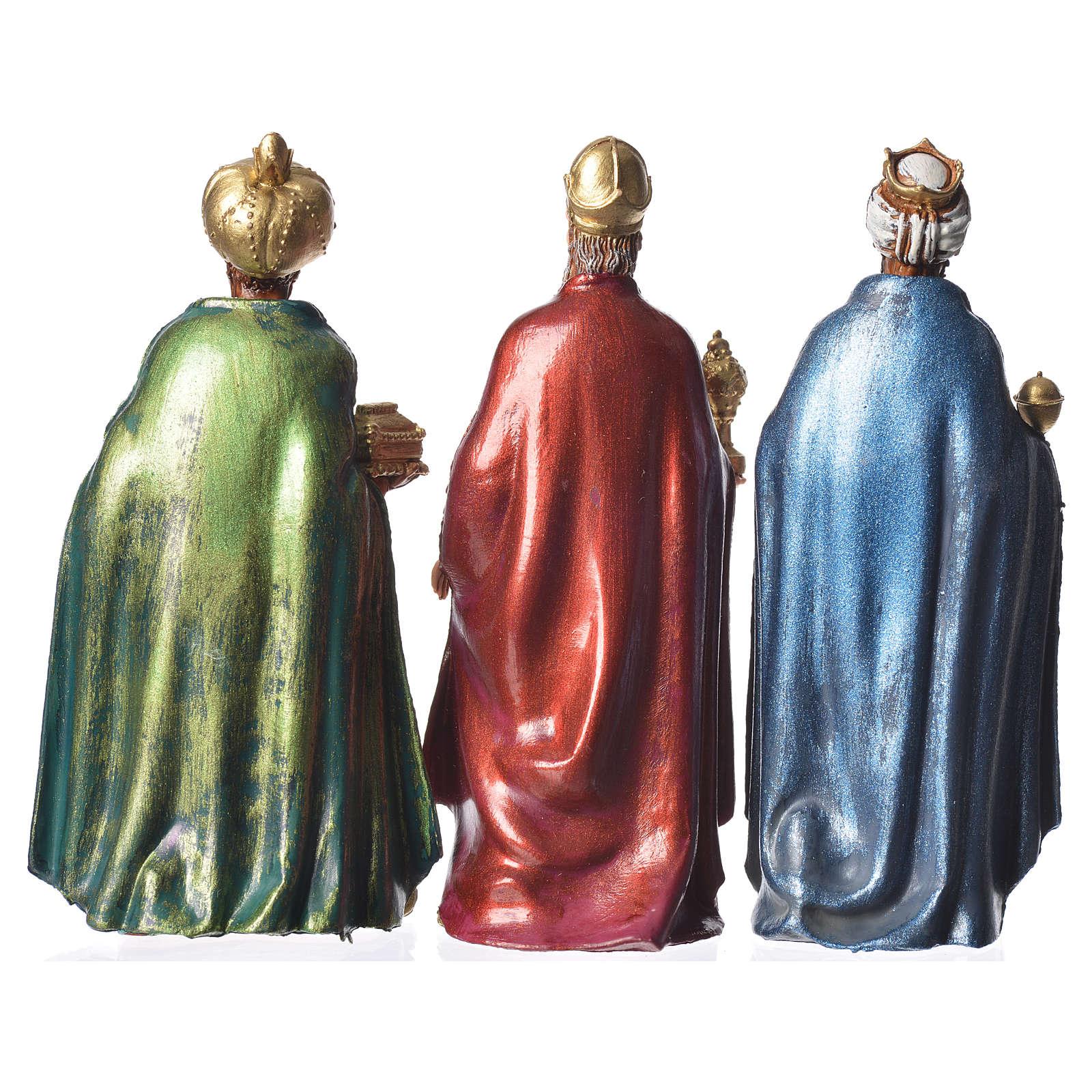 Reis Magos Moranduzzo 3 peças presépio 12 cm 4