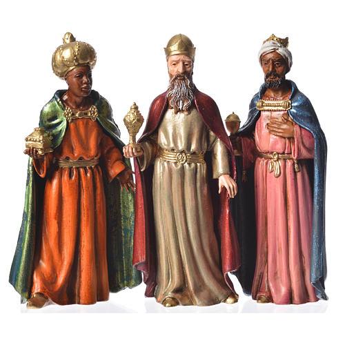 Reis Magos Moranduzzo 3 peças presépio 12 cm 1