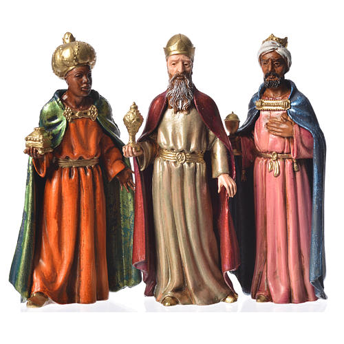 Three Kings, 3 nativity figurines, 12cm Moranduzzo 1