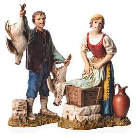 Arts and trades, 4 nativity figurines, 12cm Moranduzzo s3