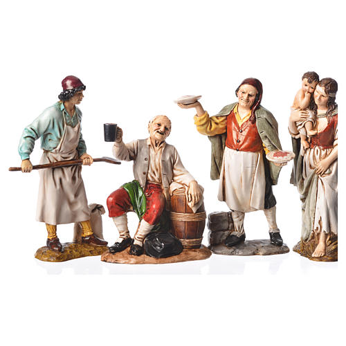 Personaggi 4 sogg. Moranduzzo 12 cm 1