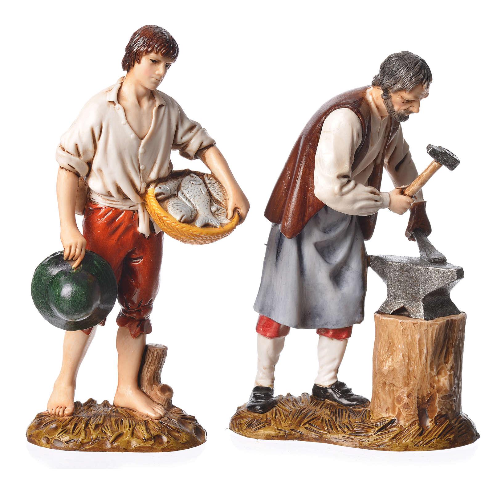 b0ea697573b Ovejas 12 cm belén Moranduzzo 4 figuras 4