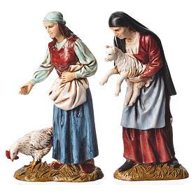 Pastori 12 cm presepe Moranduzzo 4 pz s3
