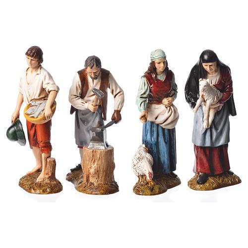 Pastori 12 cm presepe Moranduzzo 4 pz 1