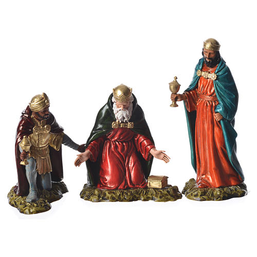 Wise men, nativity figurines, 11cm Moranduzzo 1