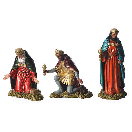 Wise men, nativity figurines, 11cm Moranduzzo 2
