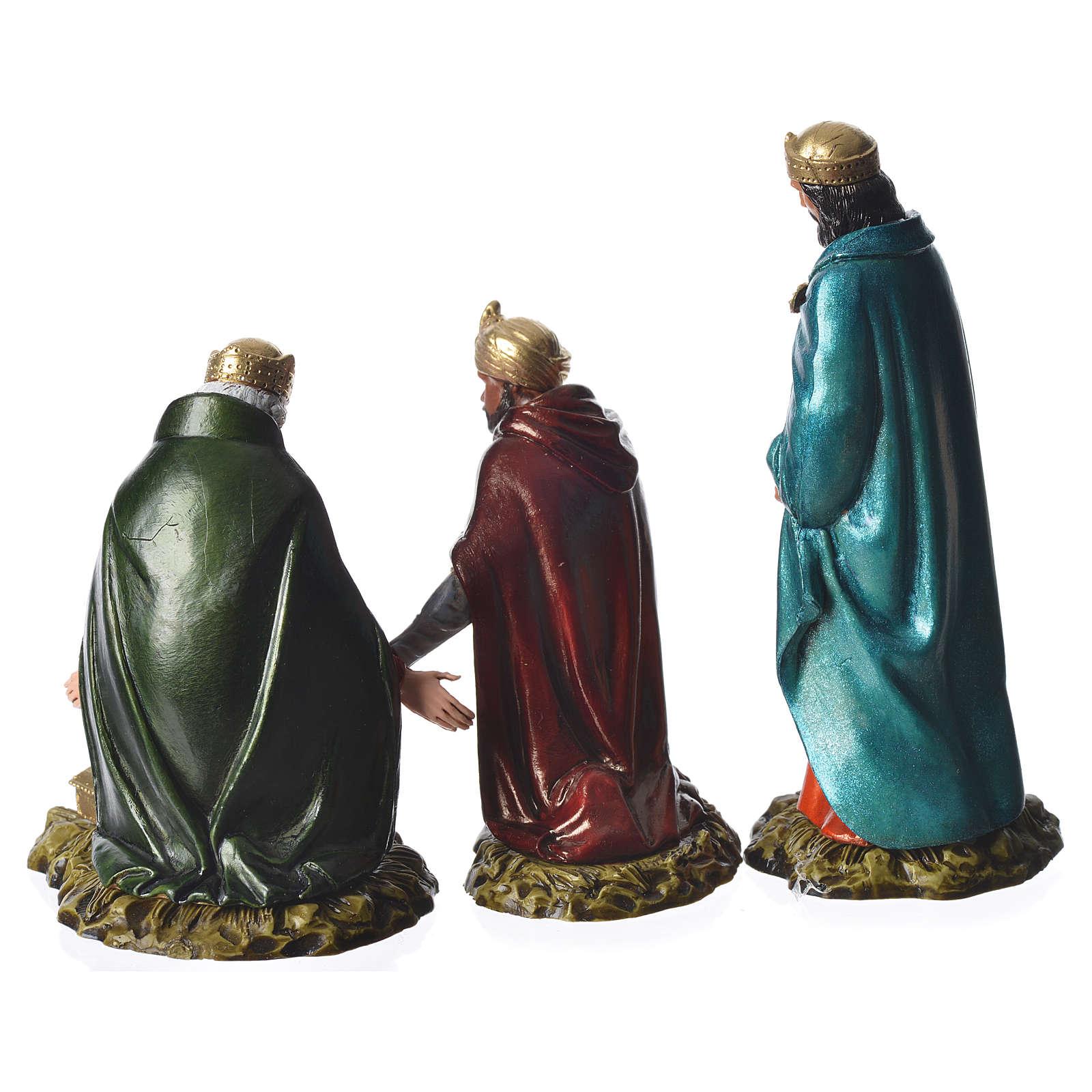 Reyes Magos 11 cm Moranduzzo 3 figuras 4
