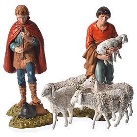 Shepherds and sheep 11cm 11 figurines, Moranduzzo nativity scene s4