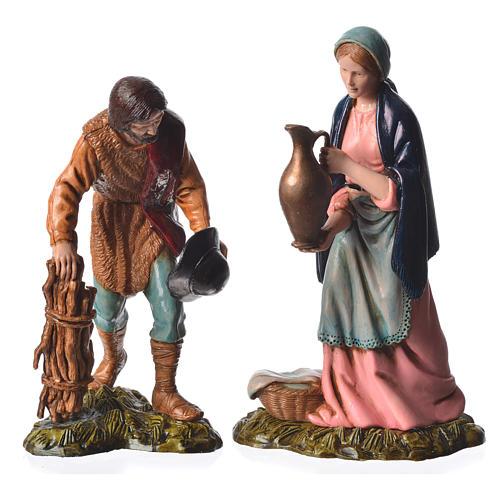 Shepherds and sheep 11cm 11 figurines, Moranduzzo nativity scene 3