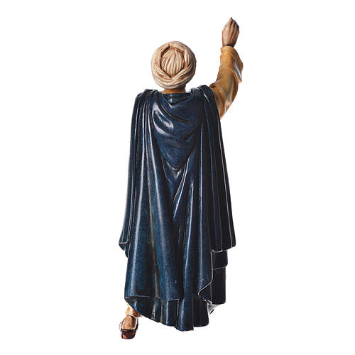 Oriental man walking, nativity figurine, 13cm Moranduzzo 2