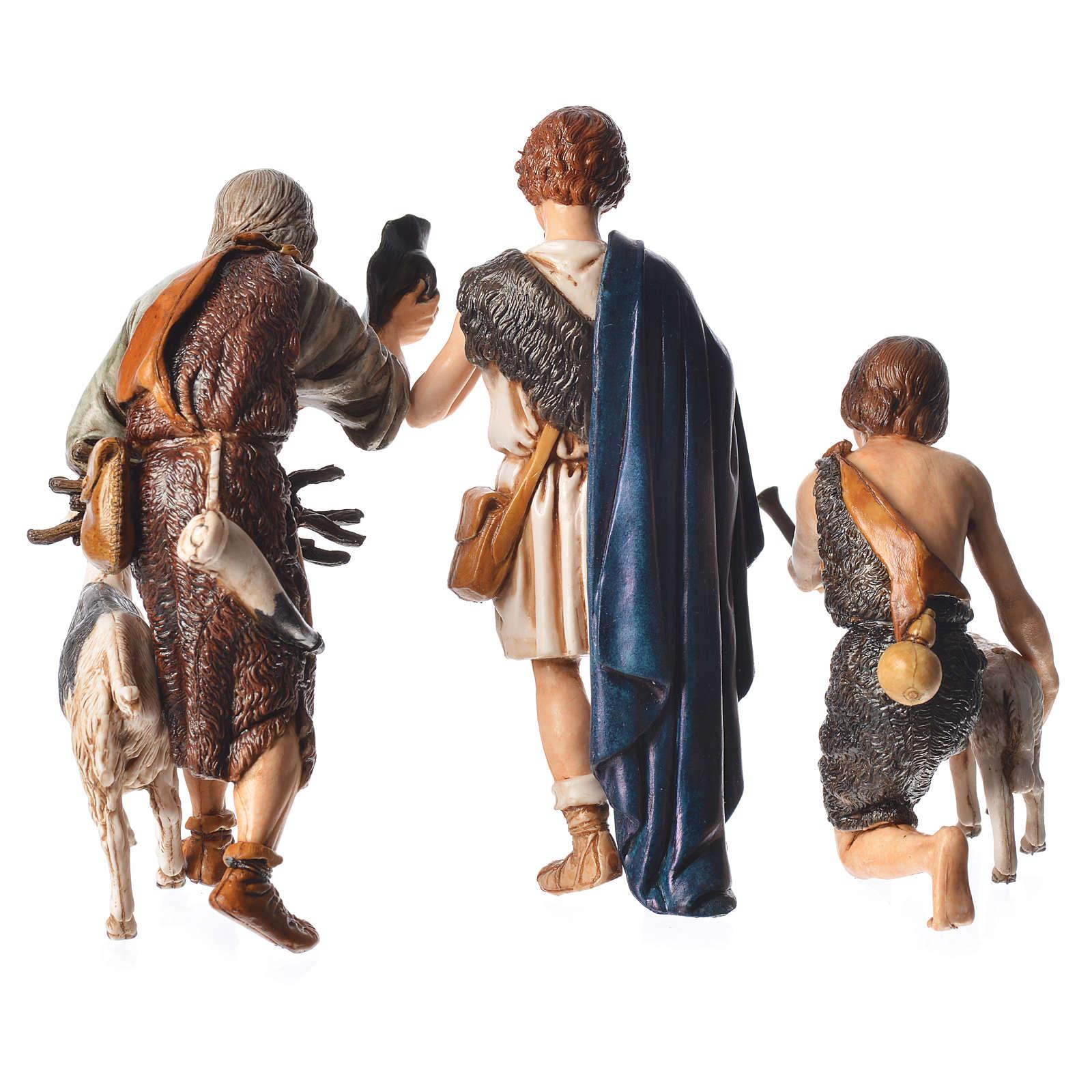 shepherds 6 nativity figurine 13cm moranduzzo online sales on. Black Bedroom Furniture Sets. Home Design Ideas