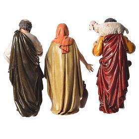 Shepherds, 6 nativity figurine, 13cm Moranduzzo s3