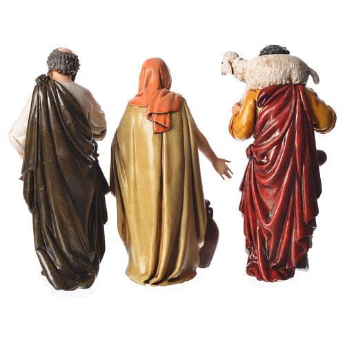 Shepherds, 6 nativity figurine, 13cm Moranduzzo 3